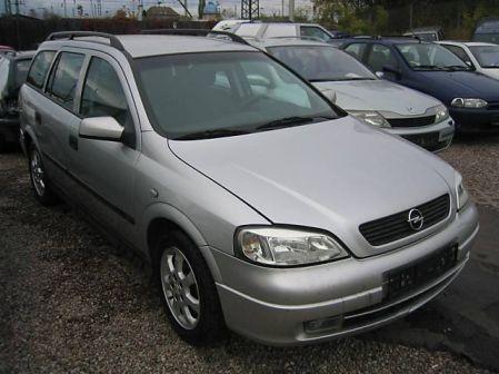 Opel Astra 2002 - отзыв владельца