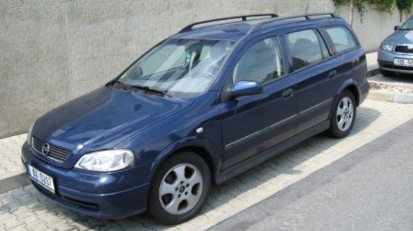 Opel Astra 2001 - отзыв владельца