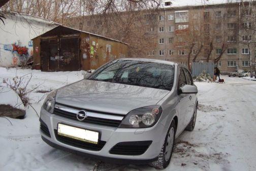 Opel Astra 2005 - отзыв владельца