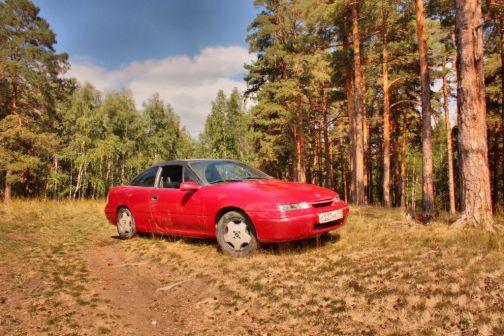 Opel Calibra 1992 - отзыв владельца