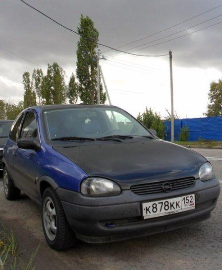 Opel Corsa 1997 - отзыв владельца