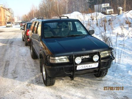 Opel Frontera 1992 - отзыв владельца