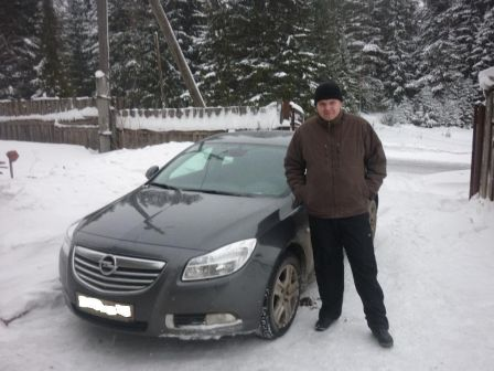 Opel Insignia 2010 - отзыв владельца