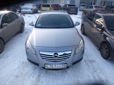 Opel Insignia 2009 - отзыв владельца
