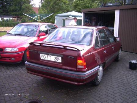 Opel Kadett 1990 - отзыв владельца