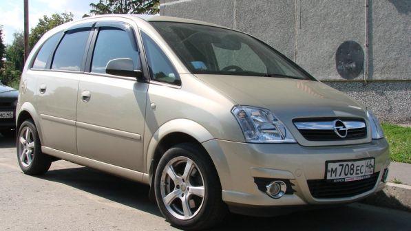 Opel Meriva  - отзыв владельца