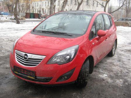 Opel Meriva 2011 - отзыв владельца