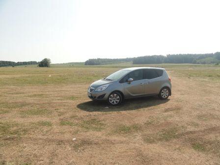 Opel Meriva 2012 - отзыв владельца