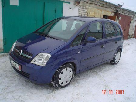 Opel Meriva 2004 - отзыв владельца