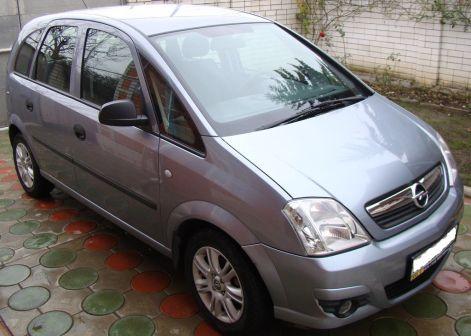 Opel Meriva 2007 - отзыв владельца