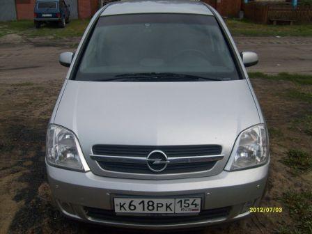 Opel Meriva 2003 - отзыв владельца