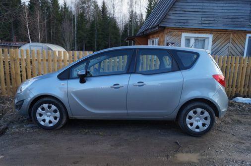 Opel Meriva 2013 - отзыв владельца