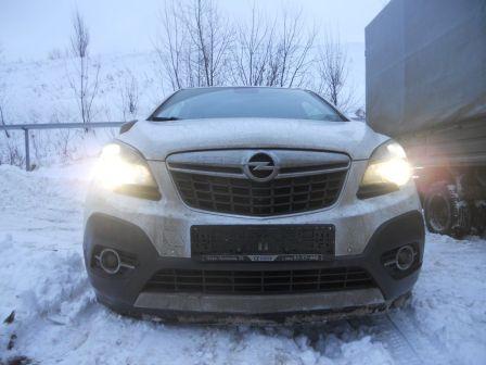 Opel Mokka 2012 - отзыв владельца