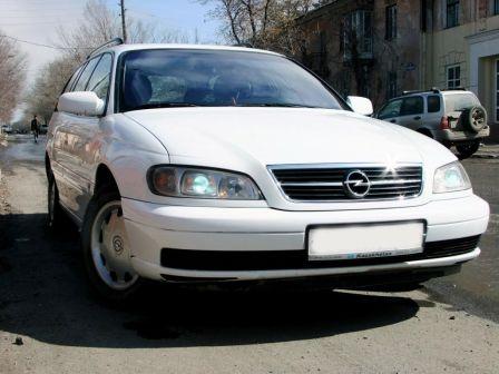 Opel Omega 2002 - отзыв владельца