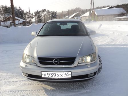 Opel Omega 2001 - отзыв владельца