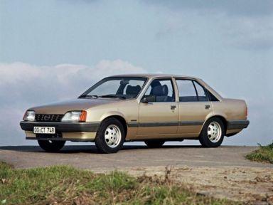 Opel Rekord, 1986