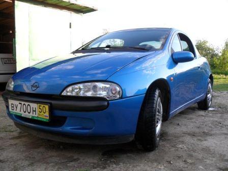 Opel Tigra 1999 - отзыв владельца