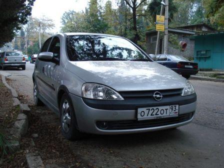 Opel Vita 2001 - отзыв владельца