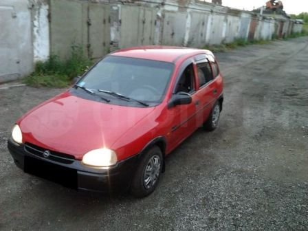 Opel Vita 1995 - отзыв владельца
