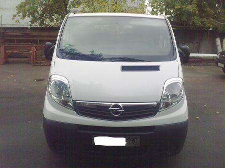 Opel Vivaro 2007 - отзыв владельца