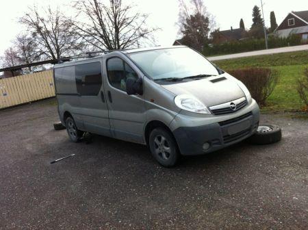 Opel Vivaro  - отзыв владельца