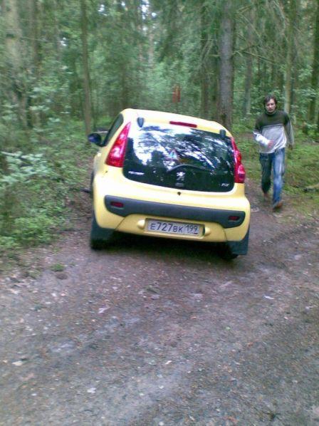 Peugeot 107 2008 - отзыв владельца