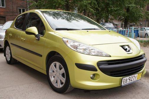 Peugeot 207 2008 - отзыв владельца