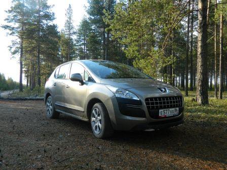 Peugeot 3008 2012 - отзыв владельца