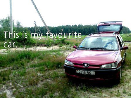 Peugeot 306 1998 - отзыв владельца