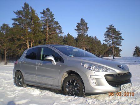 Peugeot 308 2009 - отзыв владельца