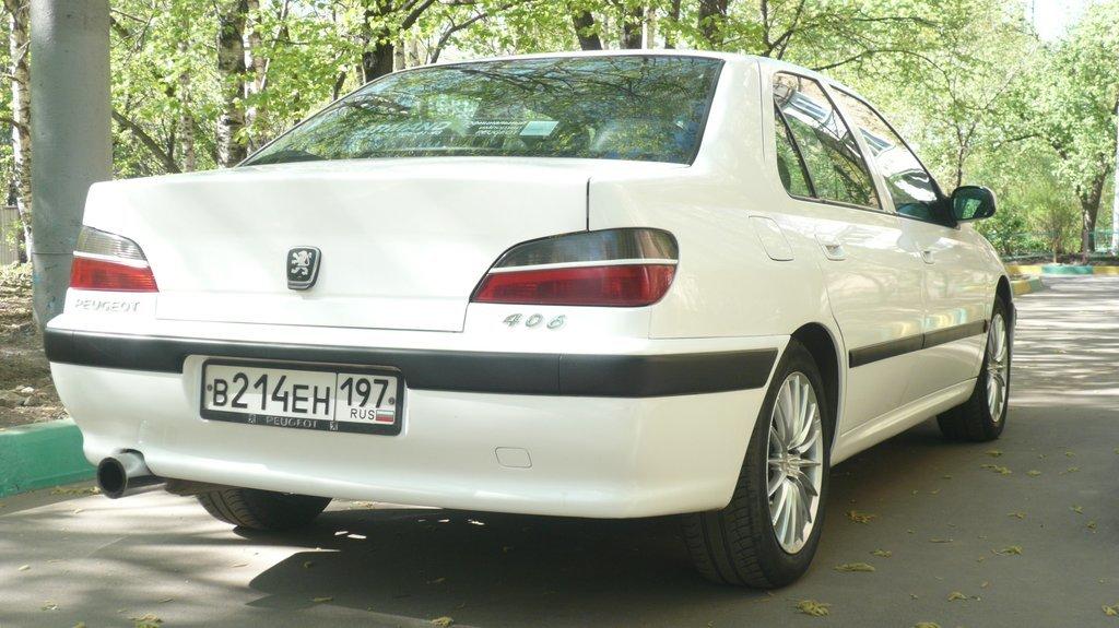 peugeot 406 обзор 1998