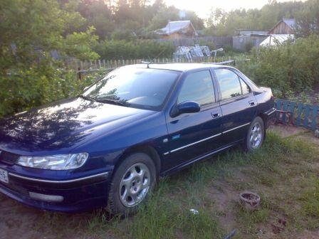 Peugeot 406 2002 - отзыв владельца