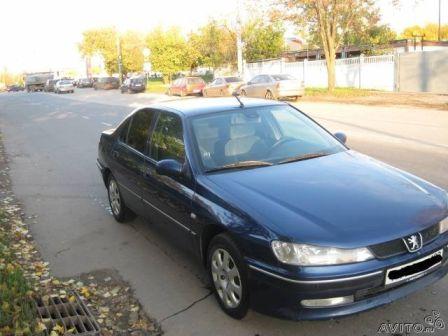 Peugeot 406 2001 - отзыв владельца