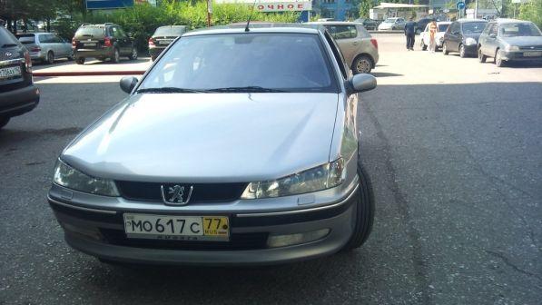 Peugeot 406 2003 - отзыв владельца