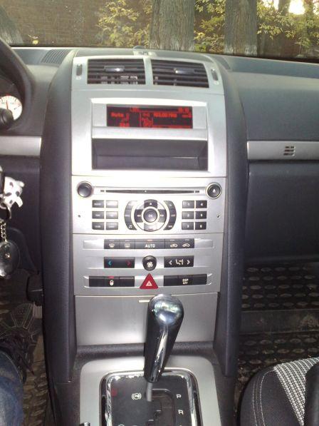 Peugeot 407 2007 - отзыв владельца