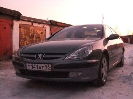 Peugeot 607 2002 - отзыв владельца