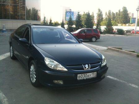 Peugeot 607 2001 - отзыв владельца