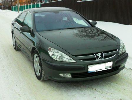 Peugeot 607 2004 - отзыв владельца