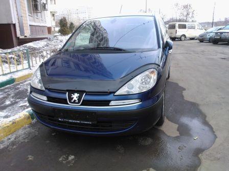 Peugeot 807 2003 - отзыв владельца