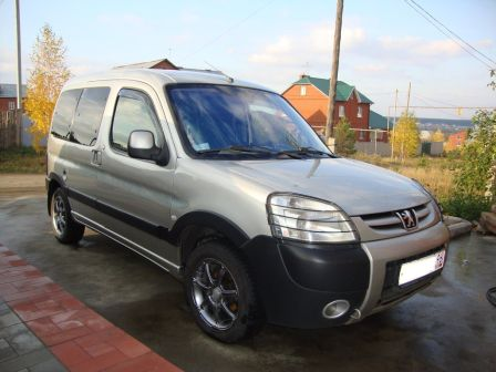 Peugeot Partner 2005 - отзыв владельца