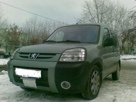 Peugeot Partner 2007 - отзыв владельца