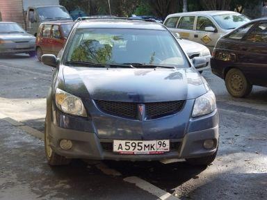 Pontiac Vibe, 2003