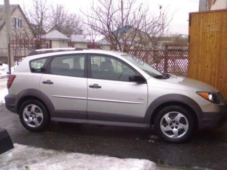 Pontiac Vibe 2004 - отзыв владельца