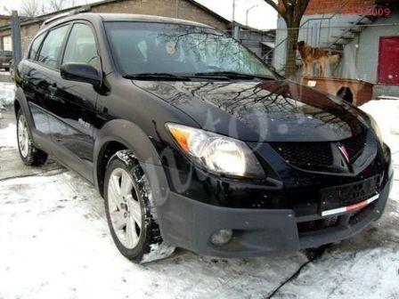 Pontiac Vibe 2003 - отзыв владельца