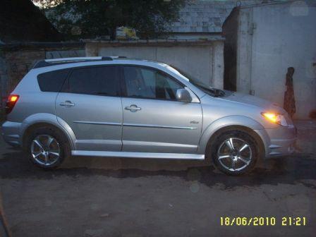 Pontiac Vibe 2007 - отзыв владельца