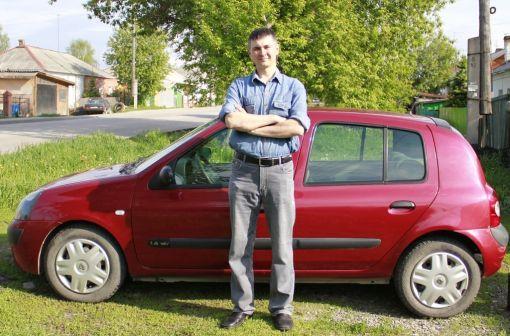Renault Clio  - отзыв владельца