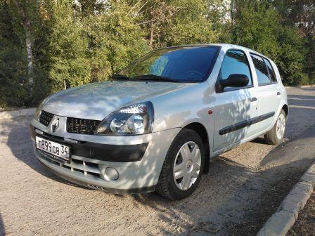 Renault Clio 2002 - отзыв владельца