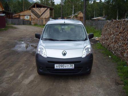 Renault Kangoo 2011 - отзыв владельца