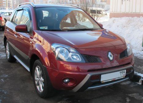 Renault Koleos 2008 - отзыв владельца