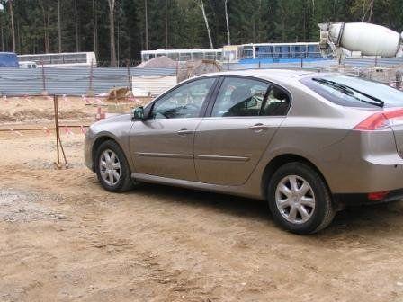 Renault Laguna 2008 - отзыв владельца